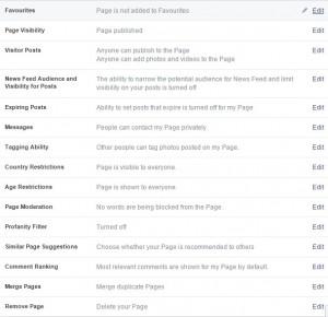 Facebook General Settings Merge