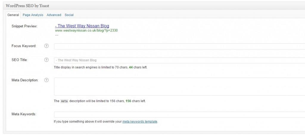 Adding Meta Title & Description To Your New Blog