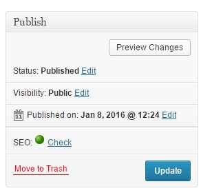 How To Publish or Schedual Your First Blog