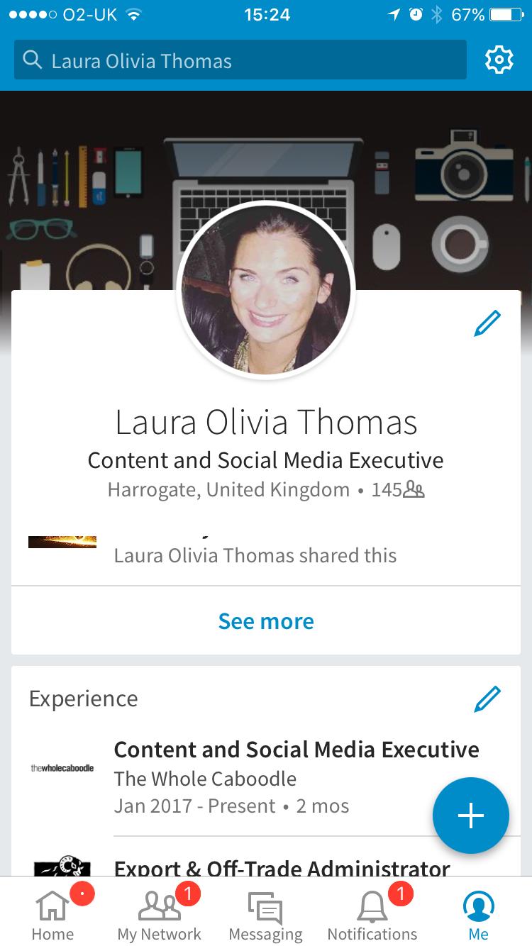 Mobile UI profile - TWC