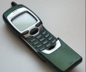 Old Nokia mobile phone