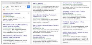 Next mobile search example