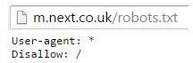 next robots.txt file example