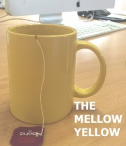 the yellow mellow mug
