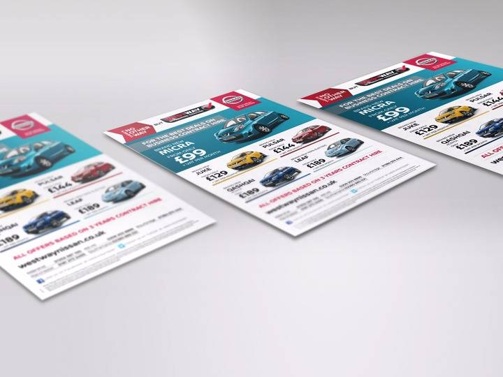 west way nissan creative advertising work